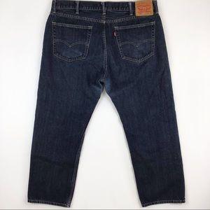 Levi's 505 40 x 30 dark 100% cotton men's jeans